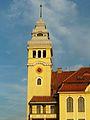 Bydgoszcz-wieża zegarowa gmachu Zespołu Szkół Mechanicznych.JPG