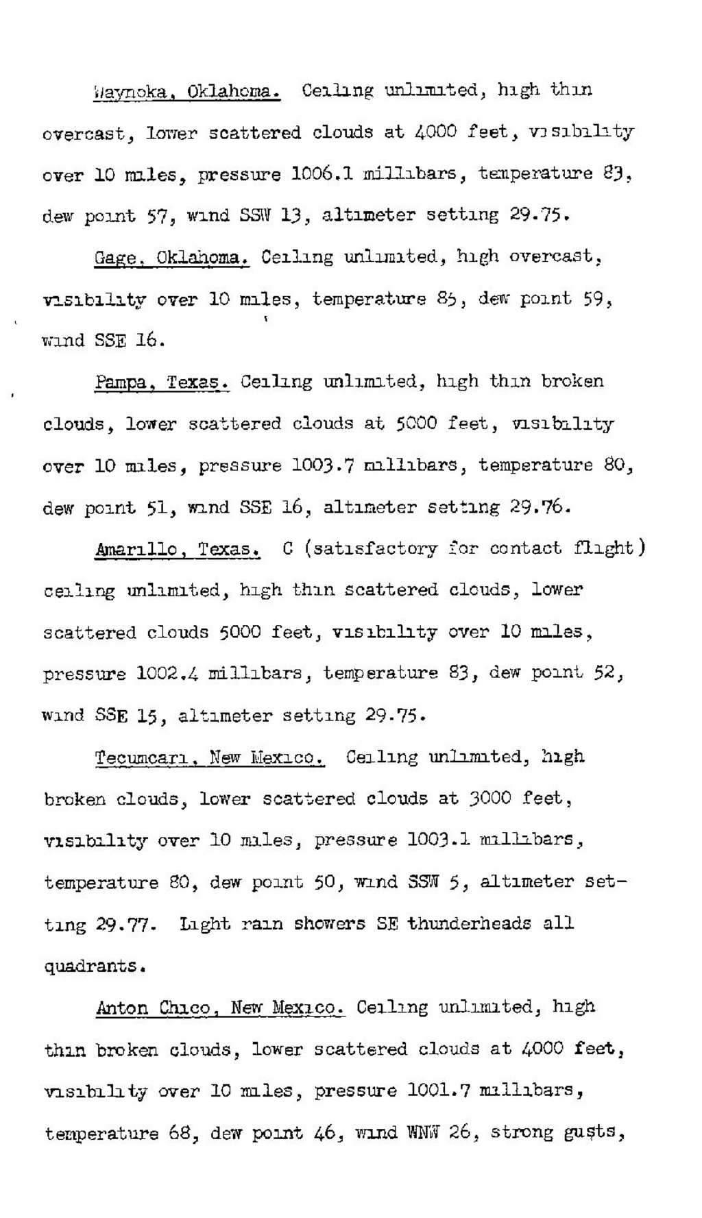 Page:CAB Accident Report, TWA crash on 17 May 1940 pdf/18