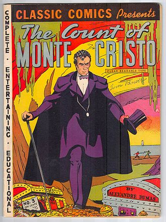 Classics Illustrated - Image: CC No 03 Count of Monte Cristo