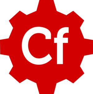 ColdFusion on Wheels - Image: CF Wheels Logo
