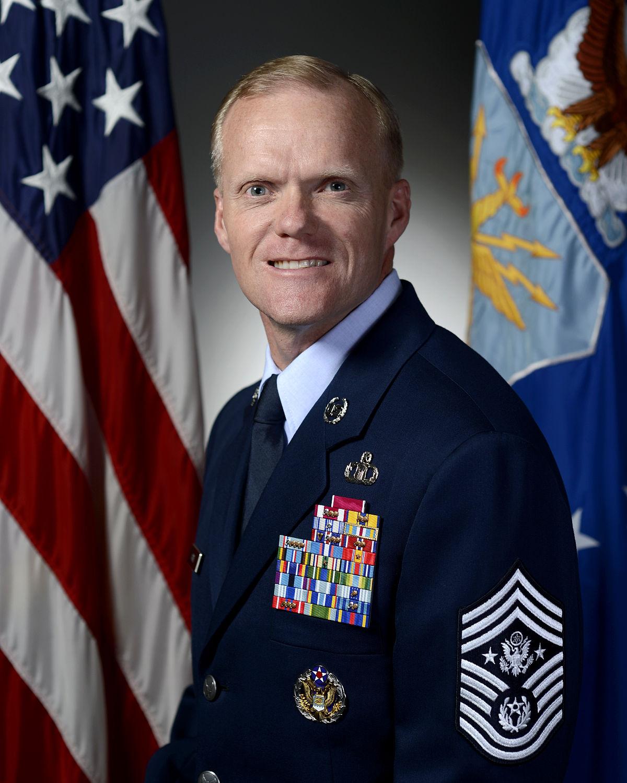 CHIEF MASTER SERGEANT HAROLD L. HUTCHISON, USAF