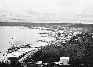 Balikpapan Bay - Balikpapan Bay ca.1910