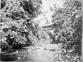 COLLECTIE TROPENMUSEUM Overdekte houten brug over de Sungai Mintjirum op de tabaksonderneming Lingga van de British Deli Langkat Tabacco Co Ld. TMnr 60001811.jpg