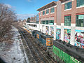 CSX 8723 and HLCX at Pittsfield station, March 2006.jpg
