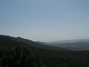 Montes de Toledo - View of one of the eastern ranges in Cabañeros National Park