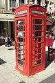 Cabine téléphonique anglaise rue Saint-Pierre à Beauvais le 10 juillet 2015.jpg
