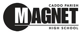 Caddo Magnet High School - Image: Caddo Magnet High School logo