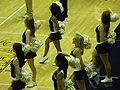 Cal Dance Team at women's volleyball, USC at Cal 11-22-08 5.JPG