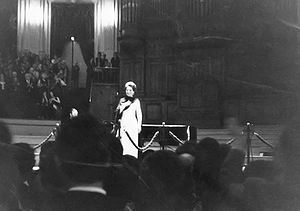 English: Final tour of Maria Callas in Amsterd...