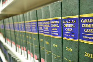 Legal case - Canadian criminal cases