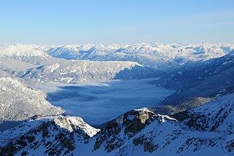 Pacific Coast Ranges - Canadian Coast Range, Whistler, British Columbia