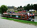 Canal boat on the way down the Kennet and Avon canal (4) - geograph.org.uk - 1443335.jpg