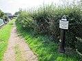Canal milepost near Wheelock.jpg