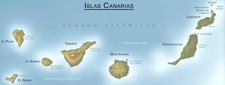 Карта острова ИСПАНИЯ
