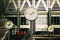 Canary Wharf, One-number clocks - geograph.org.uk - 451812.jpg