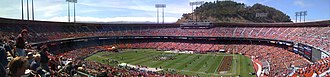 Candlestick Park - Candlestick Park in September 2008