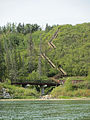 Canoeing down the North Saskatchewan River (20996274016).jpg