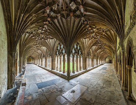 Cloisters Canterbury Cathedral Cloisters, Kent, UK - Diliff.jpg