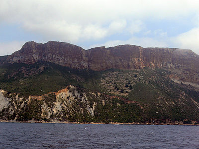 Cap Canaille - from the sea (North part).JPG