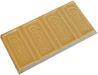 Caramac - Close-up of Caramac blocks