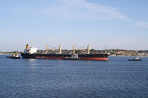 Cargo ship in Sevastopol.jpg
