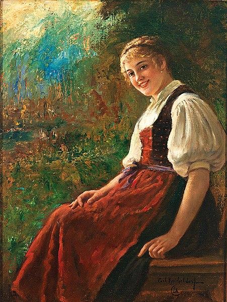 File:Carl Kricheldorf Portrait eines Mädchens in Tracht.jpg-kimberley-o'brien-chicago