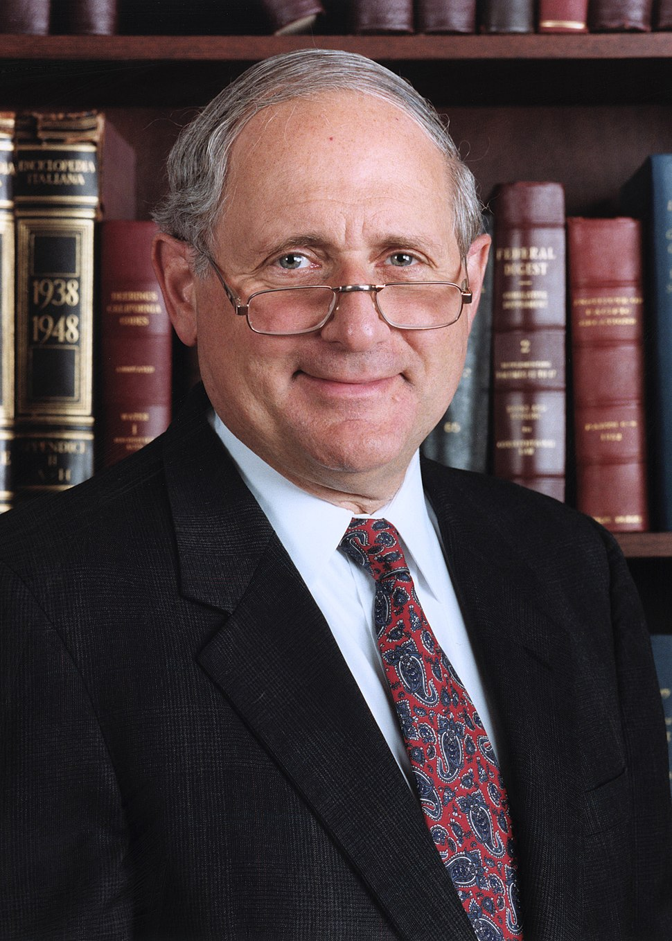 Carl Levin official portrait