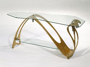 Carlo Mollino - Carlo Mollino. Low Table, ca. 1949 Brooklyn Museum