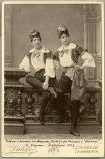 Carmen, Kungliga Operan 1889. Rollporträtt - SMV - H9 157.tif