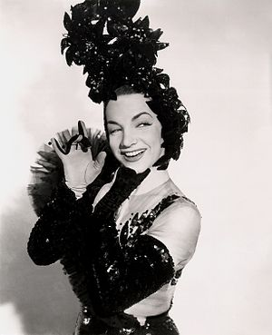 Greenwich Village (film) - Carmen Miranda in a publicity photo for the movie.