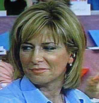 Carol Anne Meehan - Television screen capture of Carol Anne Meehan, May 2003