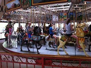 Knoebels Amusement Resort - The Grand Carousel