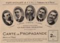 Carte de propagande aux élections législatives de la SFIO de la Nièvre.png