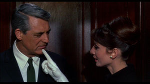 Carré Marigny - Audrey Hepburn and Cary Grant in Charade