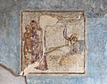 Casa di cascus longus, affreschi 02 attori.jpg