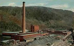 Cascade, New Hampshire - Cascade Mill c. 1920