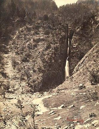 Farnham Maxwell-Lyte - Cascade de l'Enfer à Luchon, Maxwell-Lyte, c. 1858