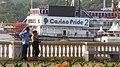 Casino vessels in the Mandovi river of Goa, India.jpeg