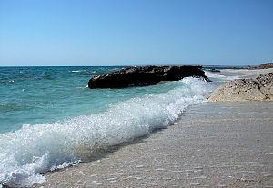 Caspian Sea - Caspian Sea near Aktau, Mangystau Region, Kazakhstan