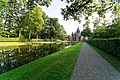 Castle De Haar (1892-1913) - French Garden designed by Hendrik Copijn - View Towards Kasteel De Haar.jpg