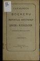 Catalogus der boekerij van het Privinciaal genootschap van kunsten en wetenschappen in Noord-Brabant (IA catalogusderboek04prov).pdf