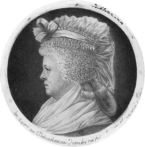 Jan Bernd Bicker - Catharina Six (1752-1793) who married Bicker on 23 May 1769 in Amsterdam. She was a scion of the powerful Six family