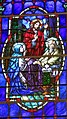 Cathedral Church of Saint Patrick (Charlotte, North Carolina) - stained glass, Death of St. Joseph.JPG