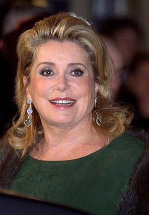Catherine Deneuve - Deneuve at the 2011 César Awards.
