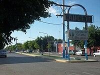 Caucete, ingreso por Diagonal Sarmiento.JPG