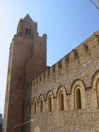 Cefalù Cathedral - Lateral view