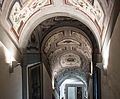 Ceiling of the Vasari Corridor, entrance from Uffizi.jpg