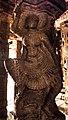 Celestial Dancer, Veerabhadra Temple, Lepakshi 13.jpg