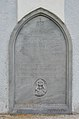 Cemetery chapel Gasen - gravestone of priest Vincenz Steininger.jpg