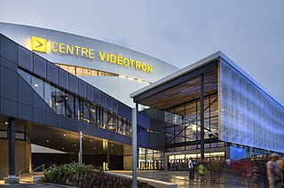 Videotron Centre indoor arena, hockey venue and concert venue in Quebec City, Quebec, Canada